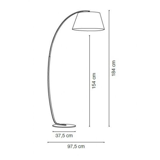 Lampadar modern Aissa