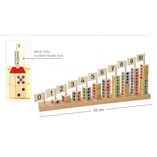 Joc turnurile cu numere