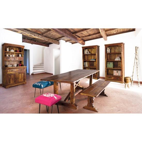 Biblioteca wenge din lemn Cali
