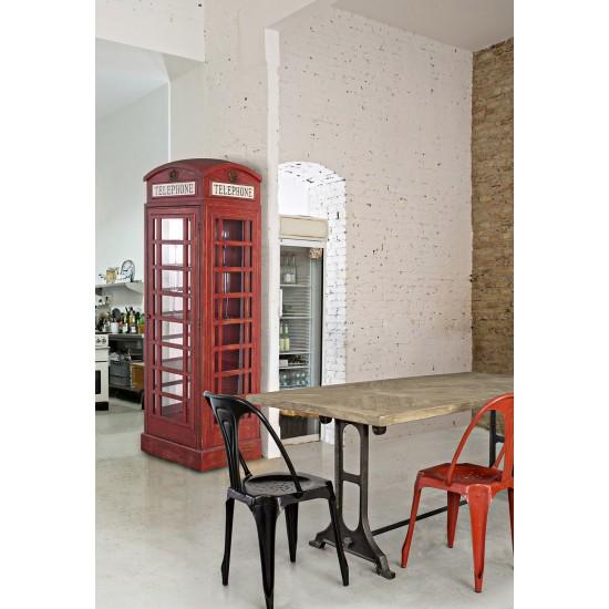 Biblioteca din lemn Telephone Booth