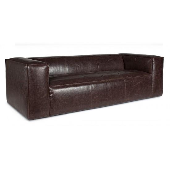 Canapea piele 3 locuri Anais
