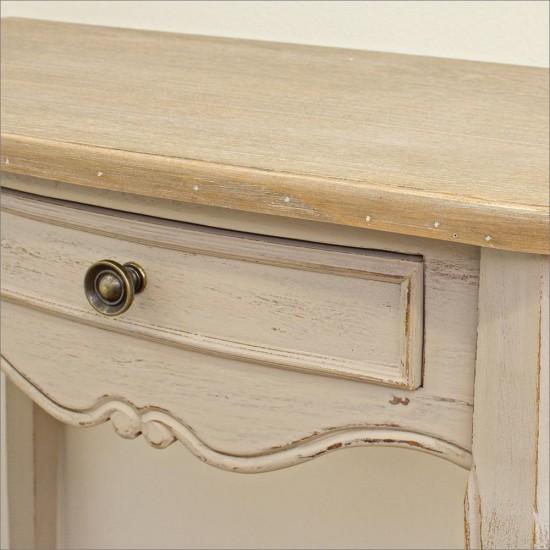 Consola de lemn Rodin