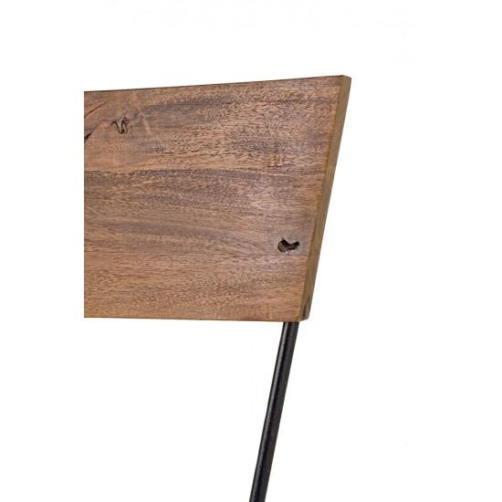 Scaun metal si lemn Edek
