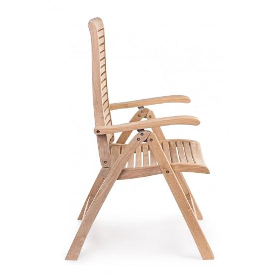Scaun pliant lemn de tec Federico