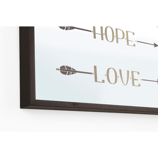 Set 2 oglinzi Faith Hope Love 30x60
