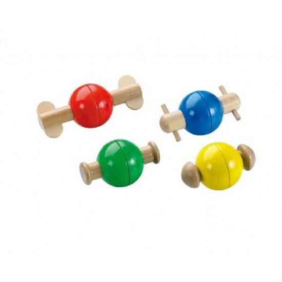 Joc cu 4 bile colorate Plop Balls
