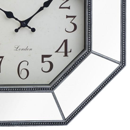 Ceas de perete vintage Hex, D40 cm