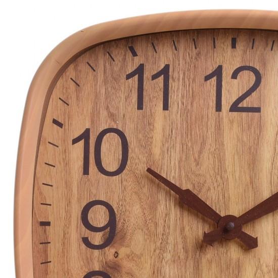 Ceas de perete vintage Wood