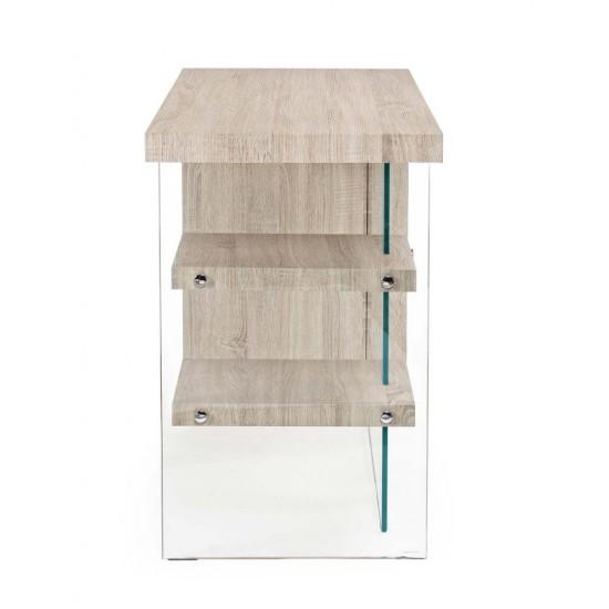 Birou modern din lemn si sticla Marquise