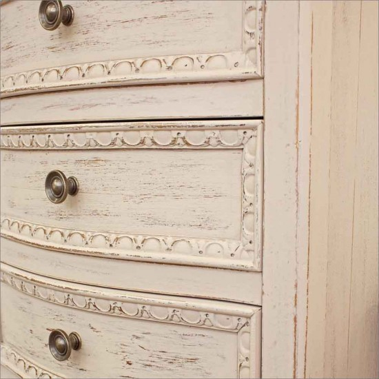 Comoda 5 sertare din lemn Isna