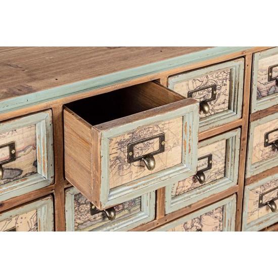 Comoda vintage din lemn de pin Regina